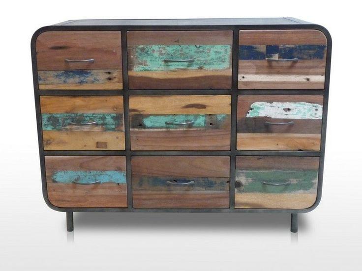 Plus de 1000 id es propos de rue de siam meubles design industriels sur p - La commode aux 9 tiroirs ...