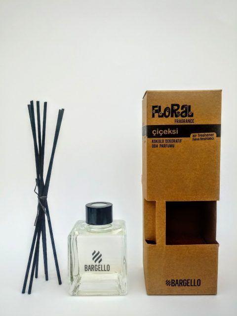 Bargello Parfüm çiçeksi Bambu çubuklu Oda Kokusu Mor Mürekkep