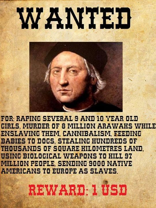 Christopher Columbus Wanted. | Facts About Christopher ...