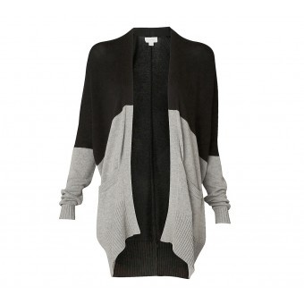 Colour Block Long Line Cardi - Tops - Her - Witchery