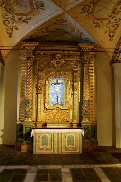 Bones Chapel in Evora, Portugal