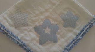 Lines With Love: Fralda Azul Estrelas