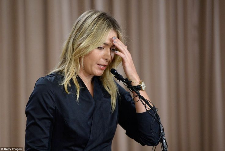Maria Sharapova, pictured, has announced she failed a drugs test at the 2016 Australian Open after testing positive for Meldonium