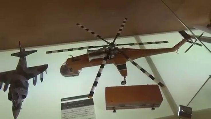 模型で見る飛行機の歴史(ライト兄弟⇒宇宙船)@鹿児島空港展示室
