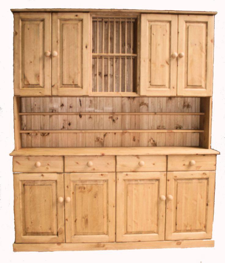 Stunning pine welsh dresser from www.pinewelshdressers.co.uk