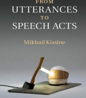 From Utterances To Speech Acts PDF