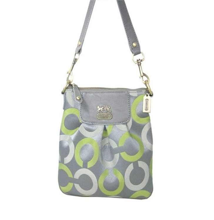2017 new Shoulder Bag Gray Green Coach on sale online,save up to 90% off hunting for limited offer,no tax and free shipping.#handbag #design #totebag #fashionbag #shoppingbag #womenbag #womensfashion #luxurydesign #luxurybag #coach #handbagsale #coachhandbags #totebag #coachbag