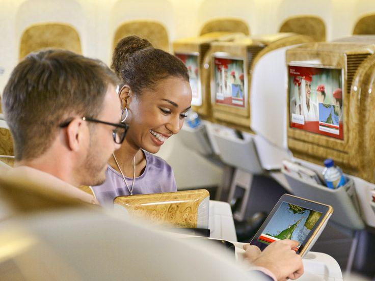 お座席 | エミレーツ体験 | エミレーツ航空 日本