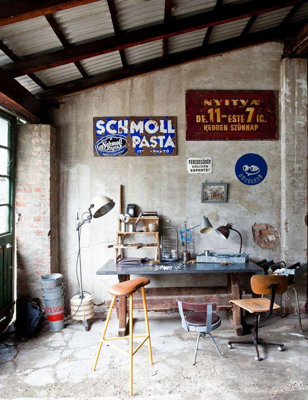 Industrial workspaces - desire to inspire - desiretoinspire.net