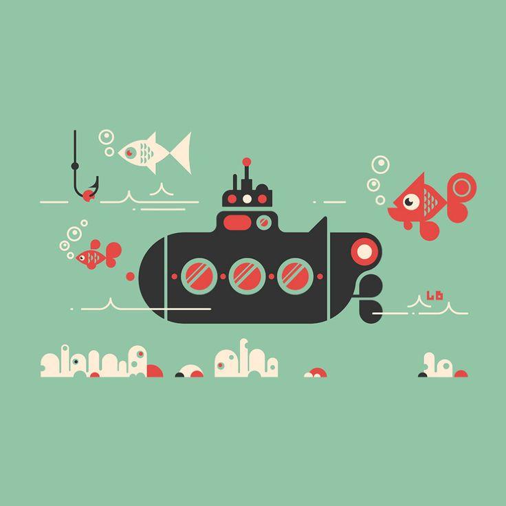 Submarine by Luke Bott