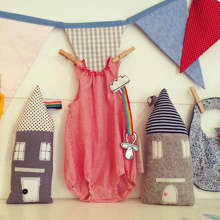 """""""Tra le nuvole"""" creazioni per bambini  #babyromper #babycouture"""