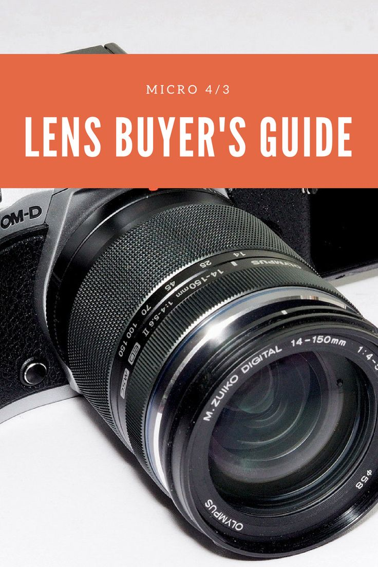 Olympus and Panasonic Mirrorless Camera Lens Buyers Guide