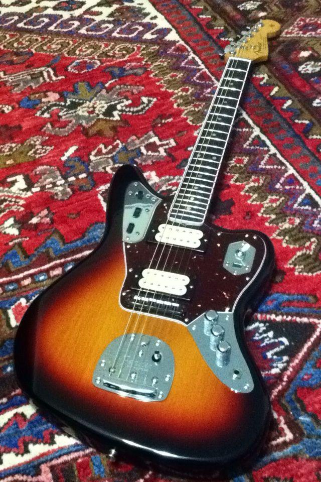 Fender Mexico Jaguar Guitar Kurt Cobain Nirvana
