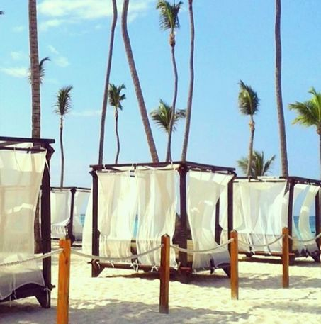 Relax The Day Away At Dreams Palm Beach Punta Cana Vacation Awesome Pinterest And