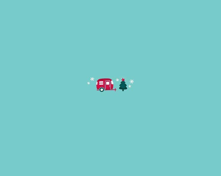 снежинки, фургон, новый год, елка, Хиппи, мини