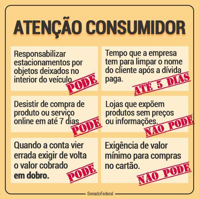 Atenção consumidor