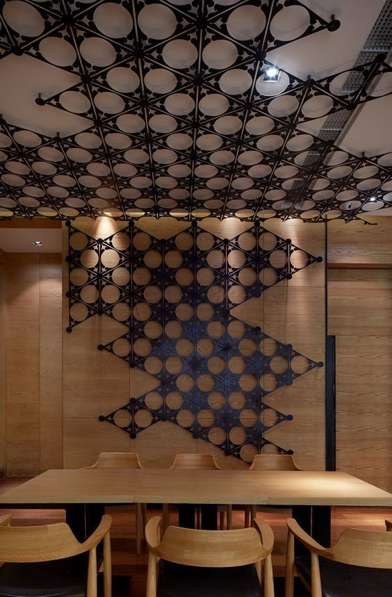Cool ceiling design idea   #office #design #moderndesign #ceiling   http://www.ironageoffice.com/