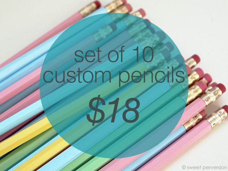 Custom Pencils. Personalized Pencils. Set of 10 Hexagon Pencils. Back to School. Hot Foil Stamped. by sweetperversion on Etsy https://www.etsy.com/listing/244878691/custom-pencils-personalized-pencils-set