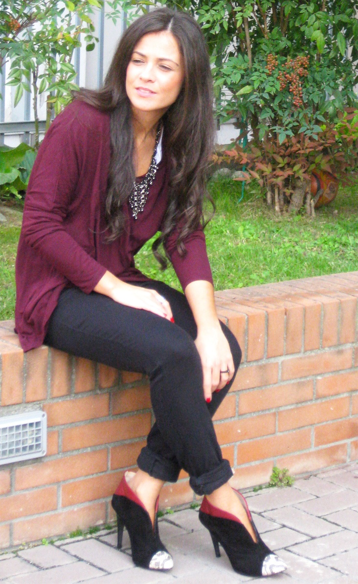 FlashBacks of Autumn  #fashion #style #outfit  #look  , Zara in Shirt / Blouses, Zara in Jeans, Zara in Heels / Wedges