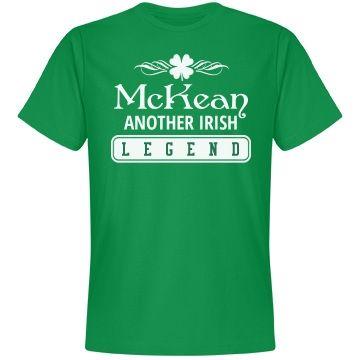 McKean another Irish legend clan