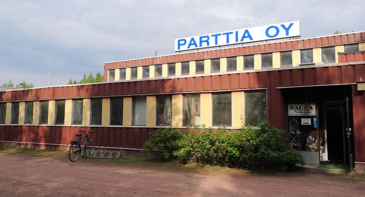 Our factory shop in Kotka (Finland). More information on our web site: www.saunalahja.fi