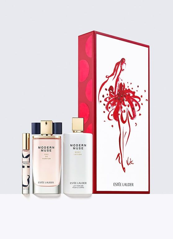 8c9207f4a0c7 Modern Muse, 3-Piece Luxury Set - The fragrance that captures her style. An  alluring contrast of sparkling florals and sleek, sensual woods.