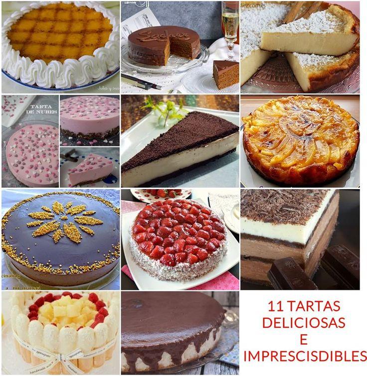 11 tartas deliciosas para cocinar con los más peques de casa #recetas
