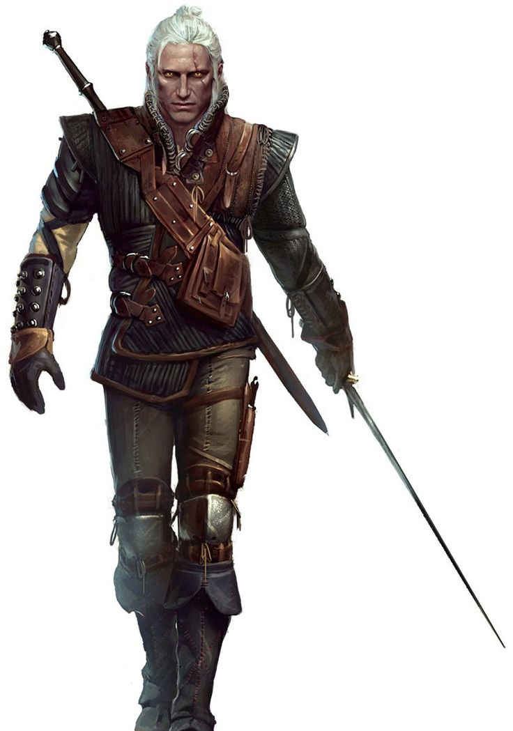 28178 - The Witcher 2: Assassins of Kings: Geralt Concept