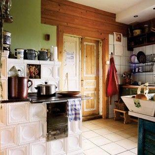 Kuchnia Kaflowa Kafle Kominkowe Piecowe Kuchenne 7471760640 Allegro Pl Wiecej Niz Aukcje Farmhouse Kitchen Design Kitchen Design Rustic Kitchen