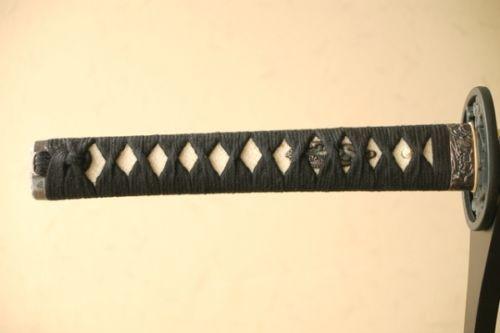 Japanese Samurai Sword Takeda Shingen Black Saya and Handle from Japan $175.00 (eBay.image) 02.18 #5/8