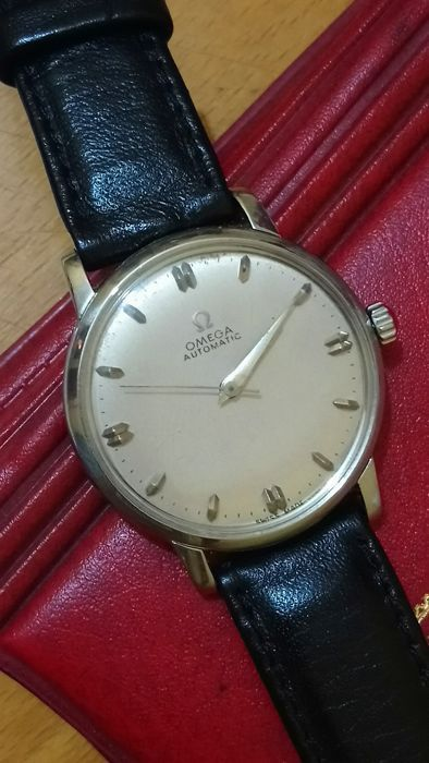 Currently at the #Catawiki auctions: Omega automatic 591 calibre men Watch