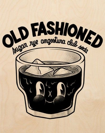 Old fashioned - by Mcbess. I need this one for the kitchen.