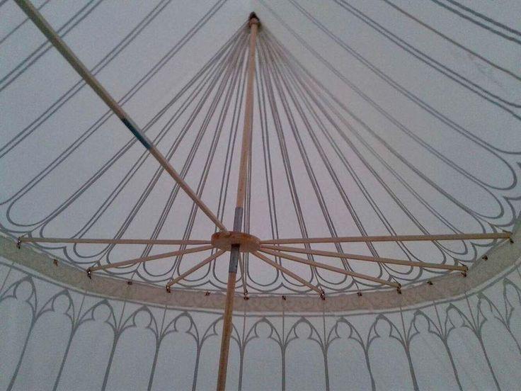 double pavilion construction made by Vinedi archery workshop