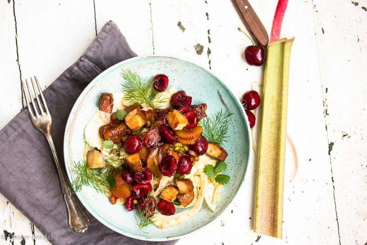 Allerliebster Pulpo Salat mit Fenchel, Orangen, Ingwer und Kreuzkümmel - Dinner um Acht