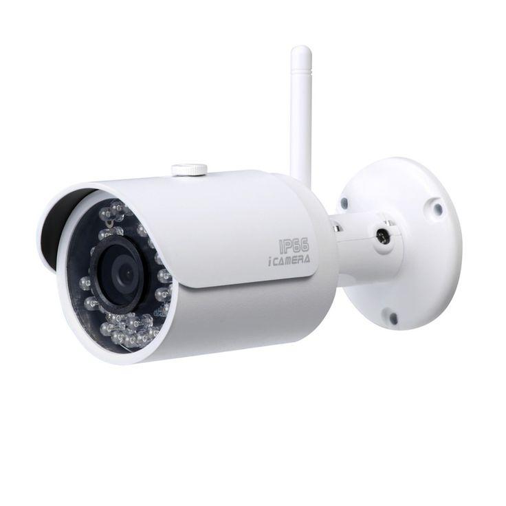 Cámara de seguridad ip wifi inalámbrica lente 3.6 mm. Ideal para propiedades que no se permita usar cables. Diseño muy atractivo.