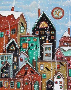 Snowing Again (154 pieces)