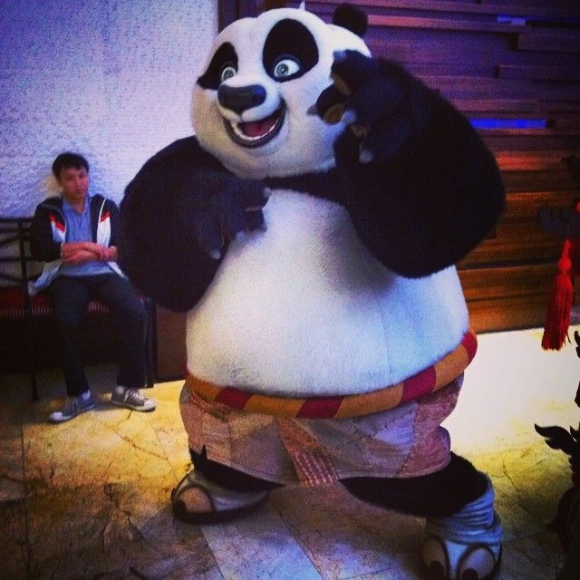 Say hi to Po the Kungfu Panda
