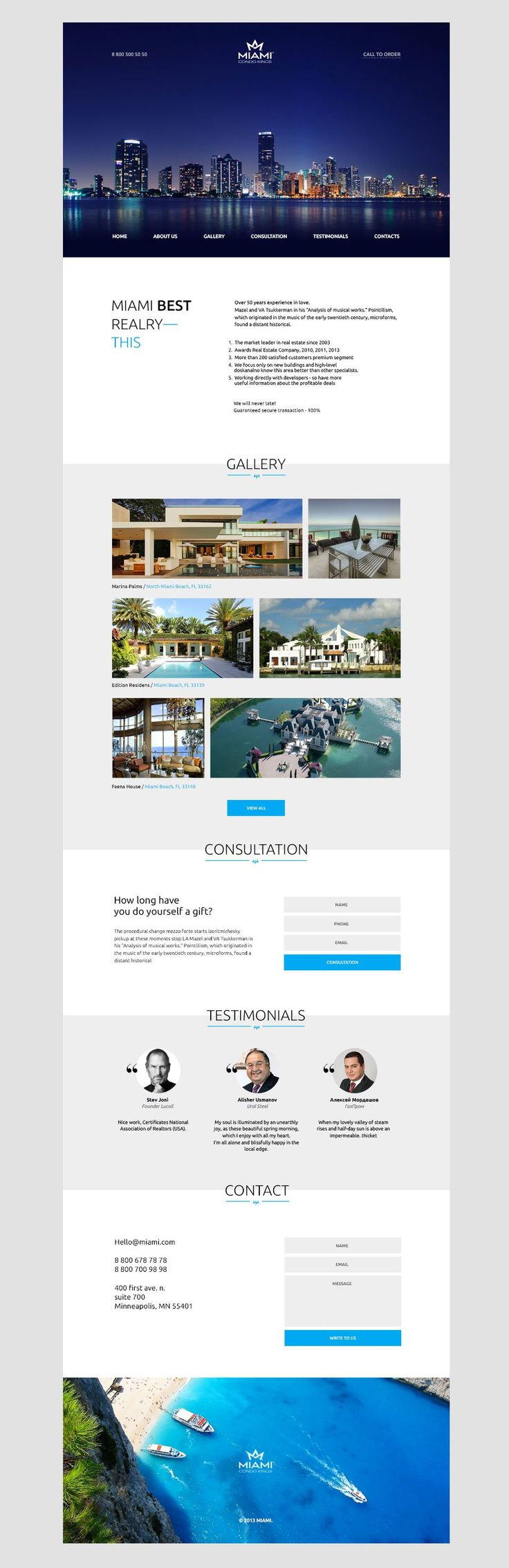 Best 25 web page templates ideas on pinterest free web page miami landing page psd template solutioingenieria Choice Image
