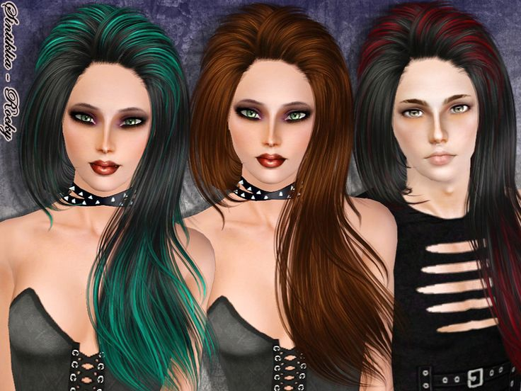 165 best Coiffure Femme Sims 3 images on Pinterest