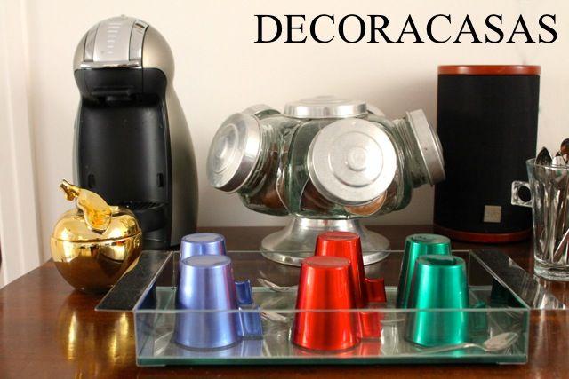 Algumas ideias para facilitar sua vida: como montar um cantinho charmoso do café para servir amigos e reunir família. Sugestão de Flávia Ferrari para o DECORACASAS.