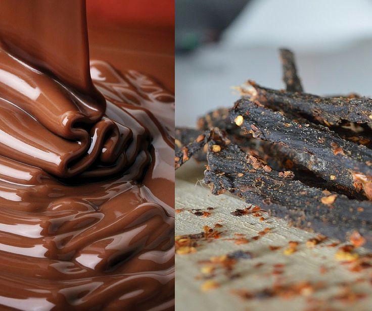 Did someone say chocolate jerky? Amazing! #jerky #chocolatejerky #foodie #easter #snack