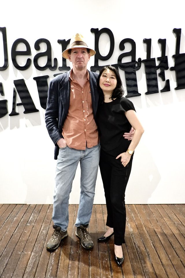 At The Media Preview Of Jean Paul Gaultier For Target Australia