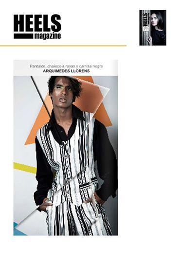 HEELS Magazine - Julio 2014 Heels Magazine Camisa, chaleco y pantalón de la colección #flashback