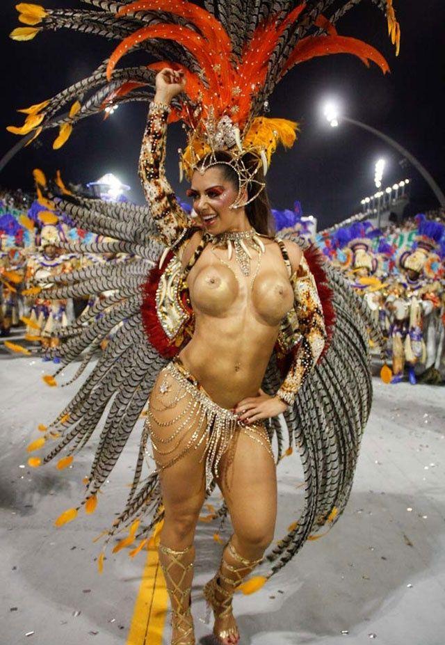 бразильский карнавал видео голых женщин - 8