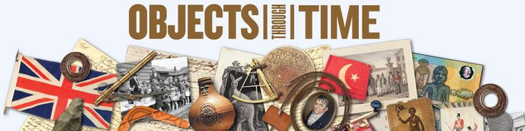 Objects Through Time traces Australia's migration history by NSW Migration Heritage Centre. It includes resources for Captain Cook, early colonisation, Captain Phillip, the Macquarie Era, Eureka, Chinese migration.