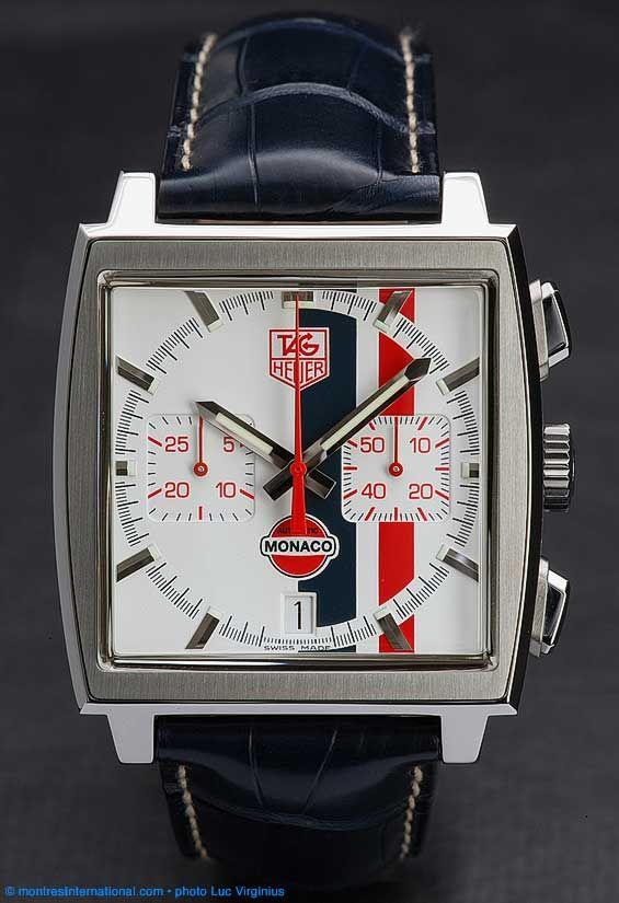 @Tyler Gerritsen Heuer Monaco Vintage Limited Edition - Le Mans @Elizabeth Lockhart Rummel's Jewelers