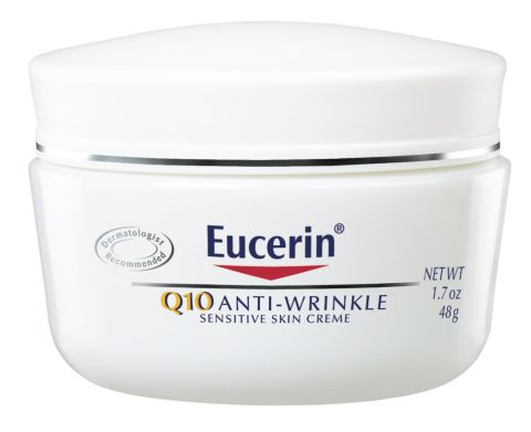 Best Anti Aging Cream - Free of fragrance and non-comedogenic, this cream utilizes Vitamin E and Coenzyme Q10, both of which act as little soldiers that defend against the aging process. Eucerin Redness Relief Soothing Night Créme, $14.79; walgreens.com.