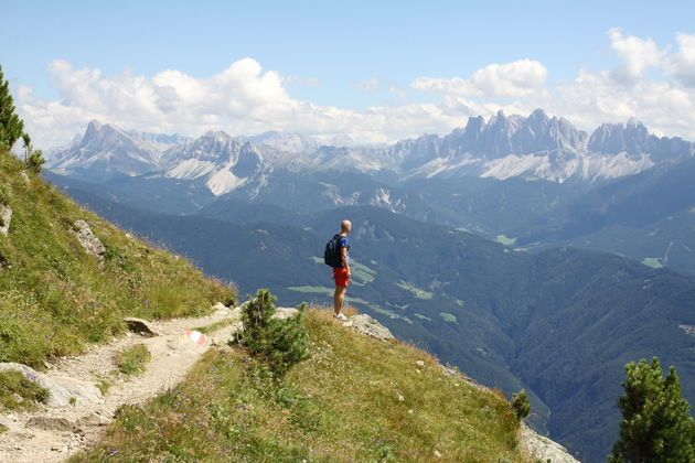 Hiking with the farmer in South Tyorl (Italien Alps) - Roter Hahn Farm Holidays