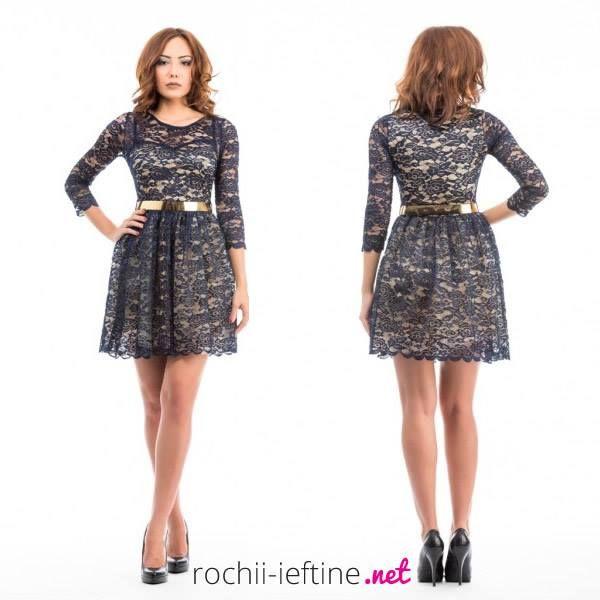 Rochie Florence bleumarin Pret: 149.00 Lei - https://goo.gl/WjYPsa