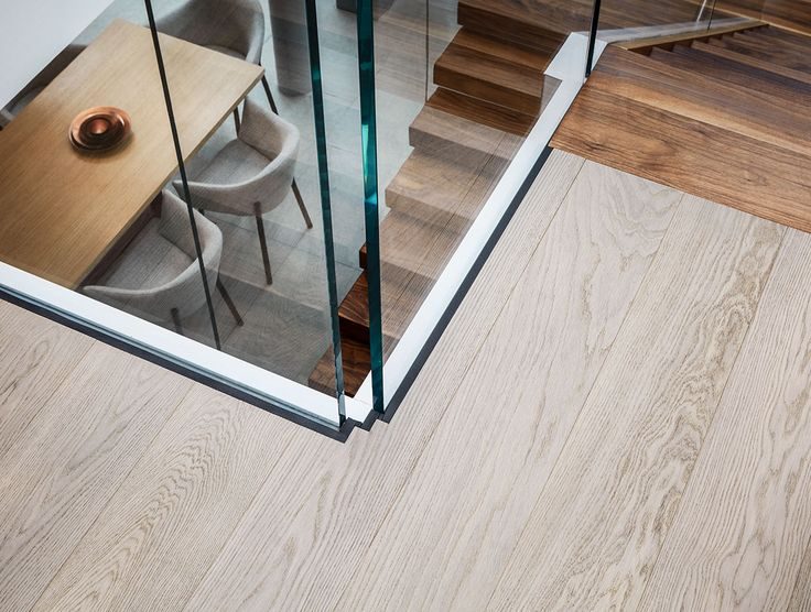 The Wardian Towers in London feature marble, wood and glass to stunning effect, including our very own Havwoods Oak Chateau from our Venture Plank range for flooring in the halls, kitchen, living areas.